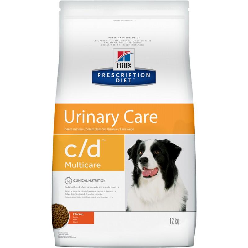 Сухой корм Hills Prescription Diet c/d Canine Urinary Tract Health диета для собак 12 кг