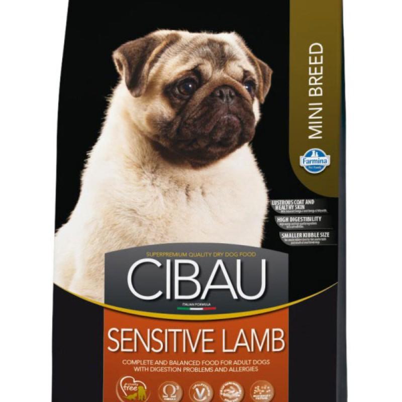 Сухой корм для собак Farmina Cibau Sensitive Lamb Mini 2,5 кг
