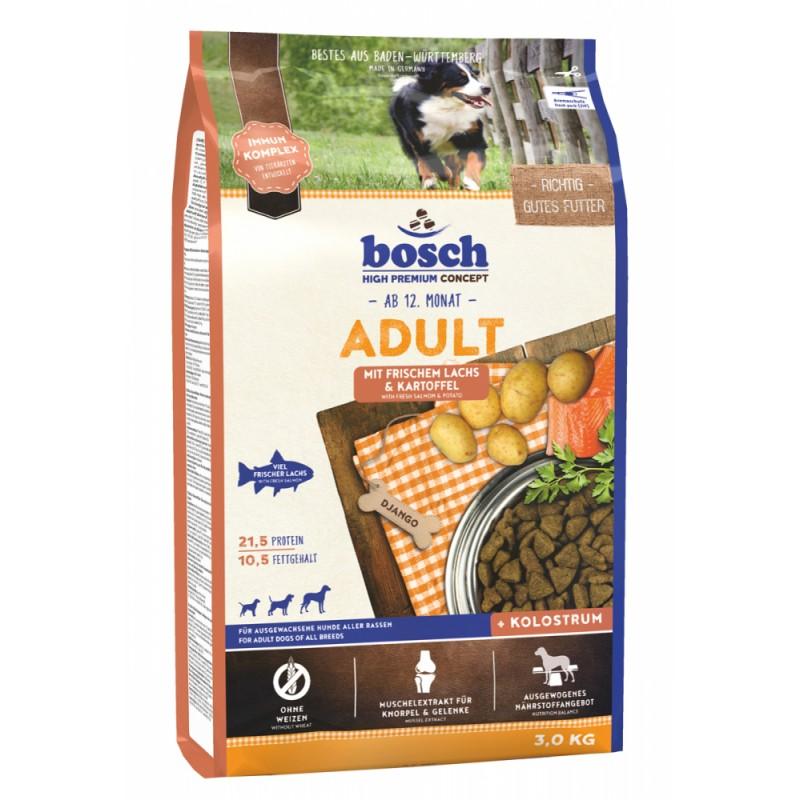 Сухой корм для собак Bosch Adult с лососем и картофелем 3 кг