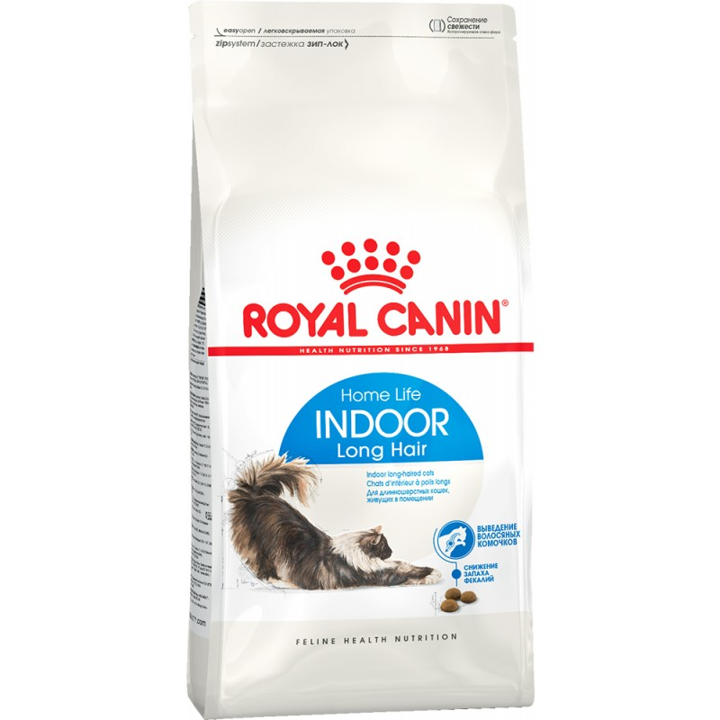 Сухой корм для кошек Royal Canin Indoor Long Hair 35 0,4 кг