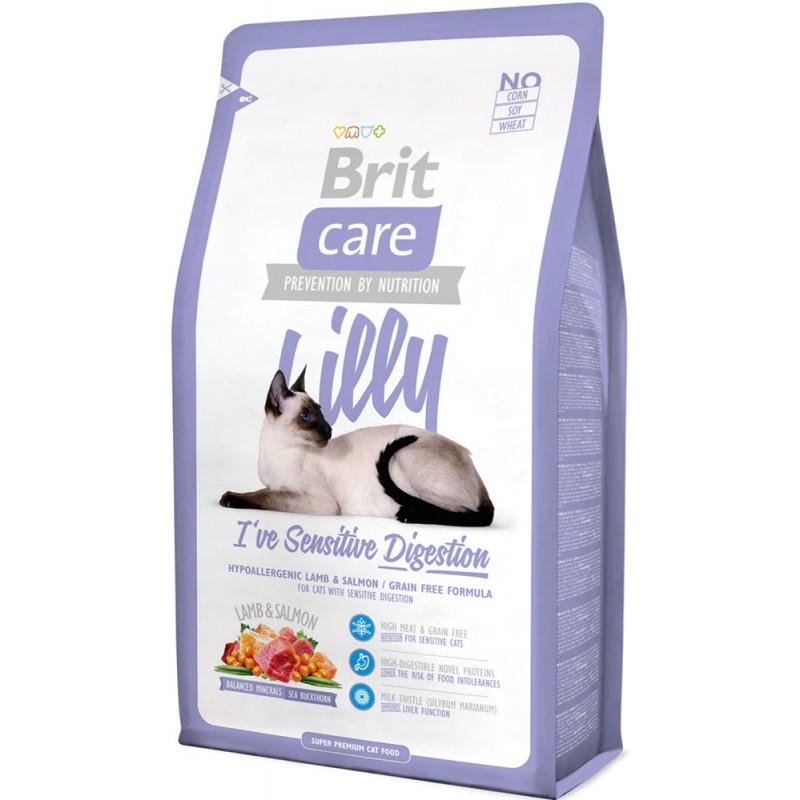 Сухой корм для кошек Brit Care Cat Lilly Sensitive Digestion 2 кг