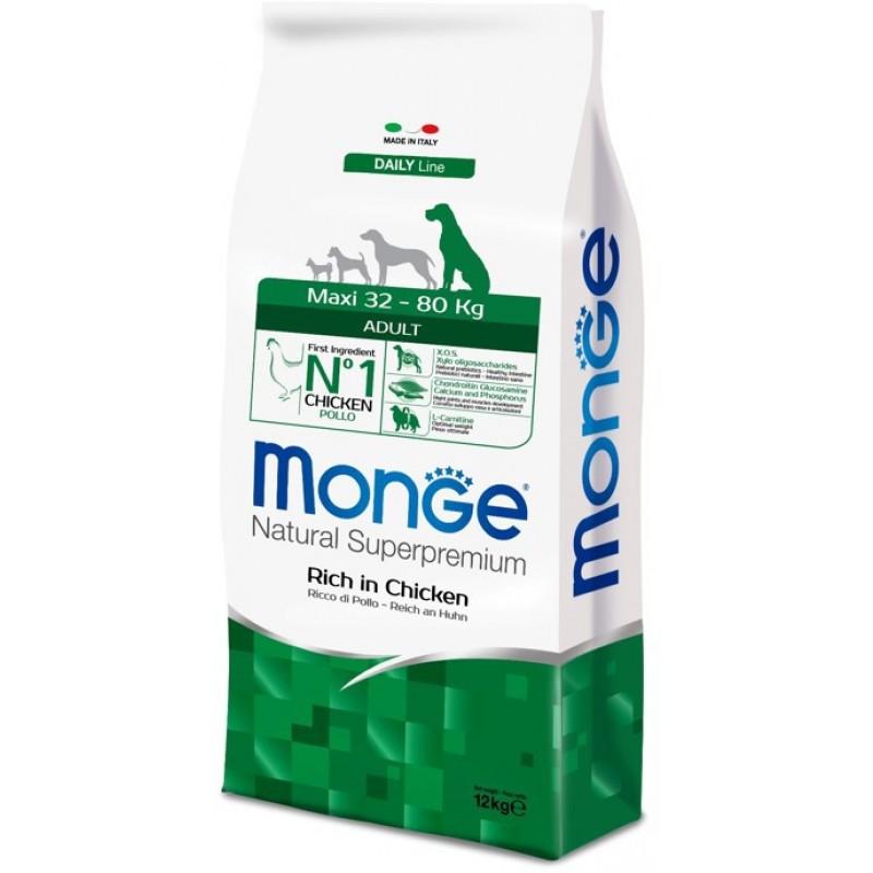Сухой корм для собак Monge Maxi Adult 12 кг