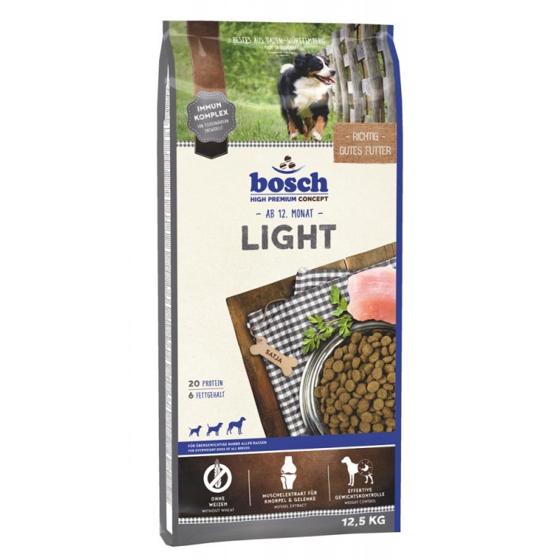 Сухой корм для собак Bosch Light 12,5 кг