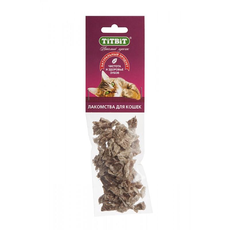 Лакомство для кошек Titbit Легкое говяжье мягкая уп-ка 0,008 кг