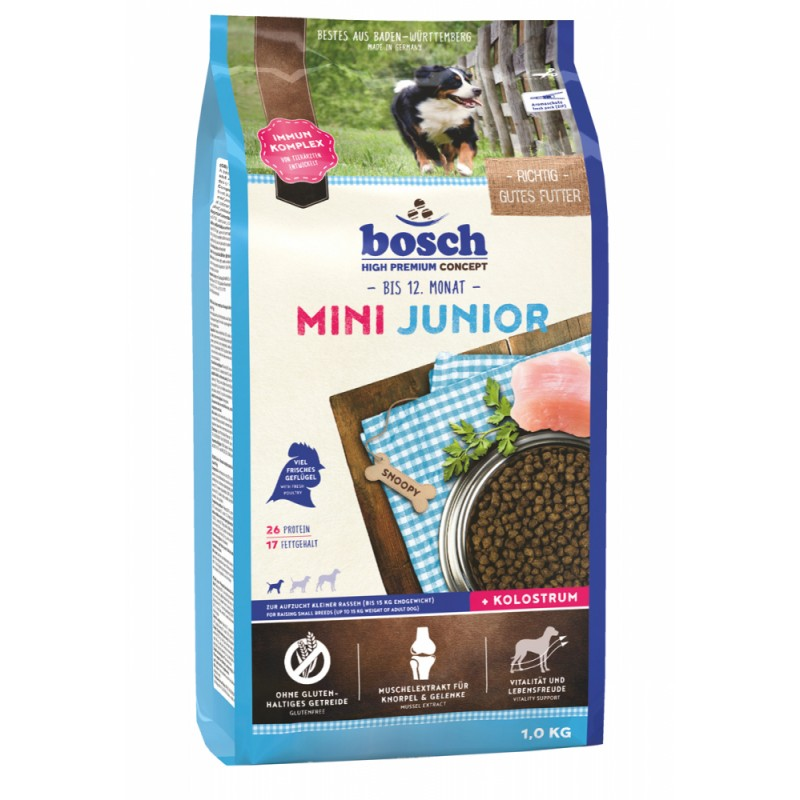 Сухой корм для щенков Bosch Mini Junior 1 кг