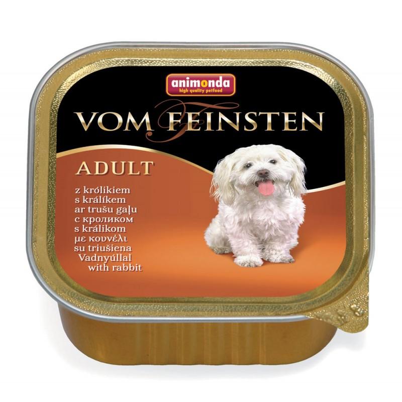 Влажный корм для собак Animonda Vom Feinsten Adult rabbit 0,15 кг