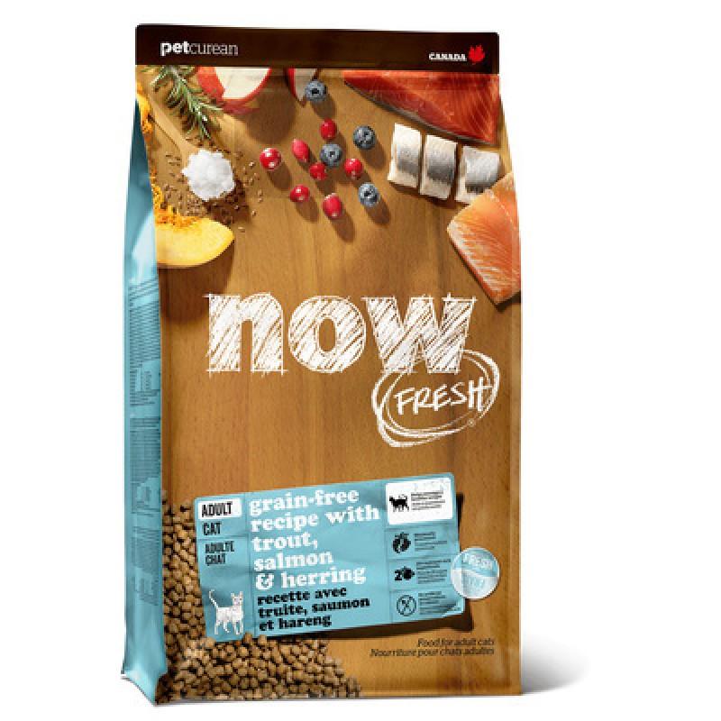 Сухой корм для кошек Now FRESH Grain Free Fish Recipe for Adult Cats 7,26 кг