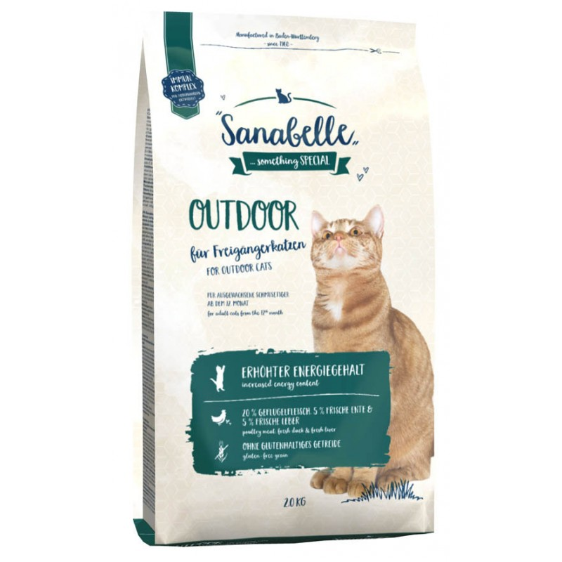 Сухой корм для кошек Sanabelle Outdoor 2 кг