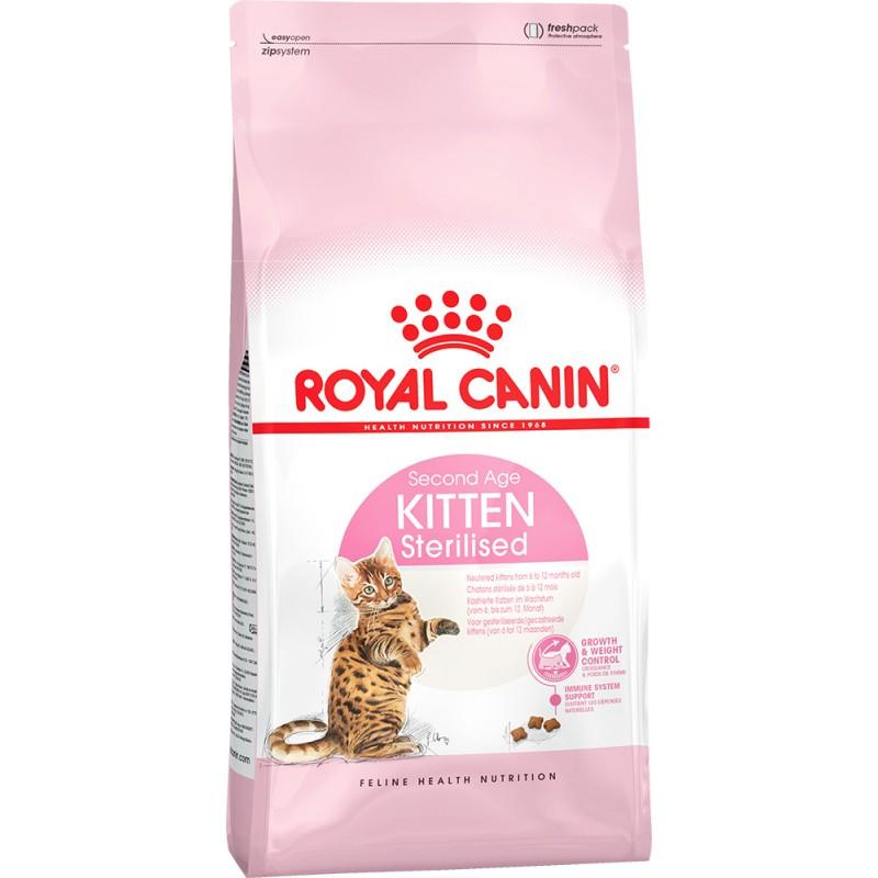 Сухой корм для котят Royal Canin Kitten Sterilised 0,4 кг