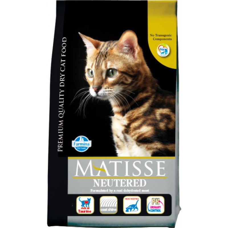 Сухой корм для кошек Farmina Matisse Neutered 10 кг