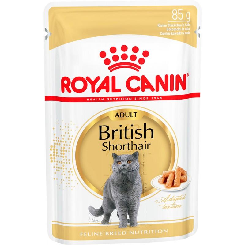 Влажный корм для кошек Royal Canin British Shorthair Adult 0,085 кг