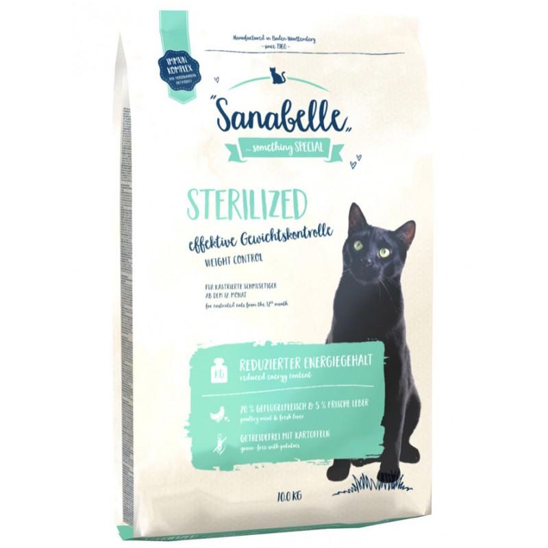 Сухой корм для кошек Sanabelle Sterilized 10 кг