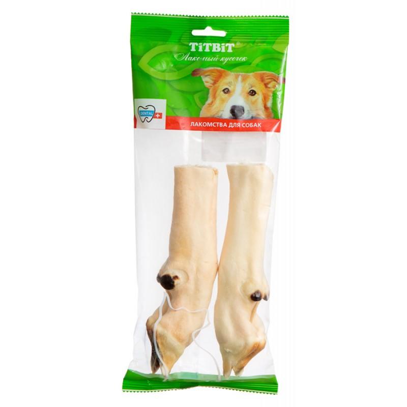 Лакомство для собак Titbit Нога баранья 2 шт 0,164 кг