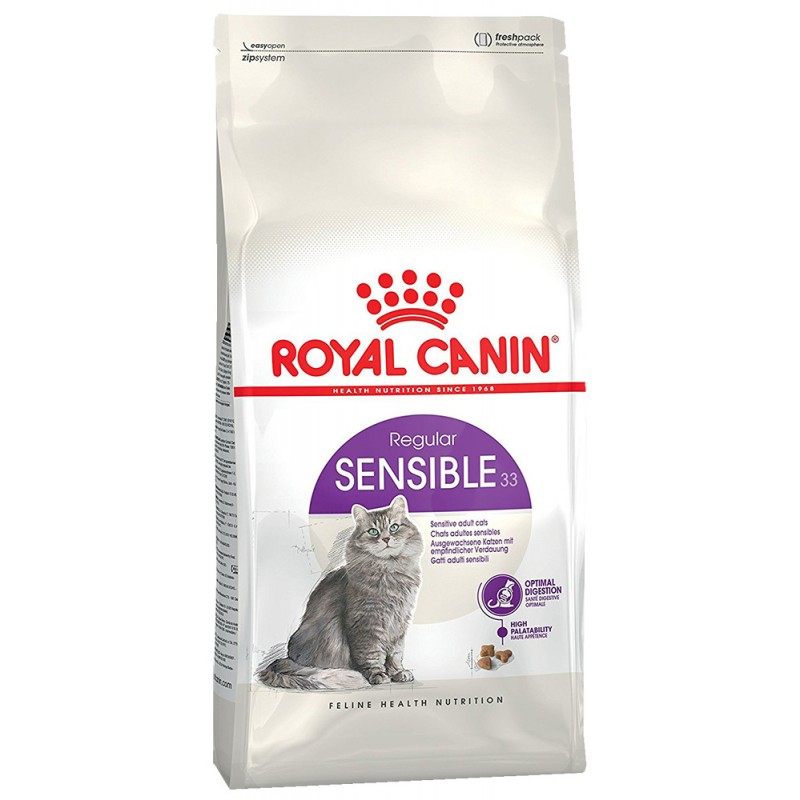 Сухой корм для кошек Royal Canin Sensible 33 0,4 кг