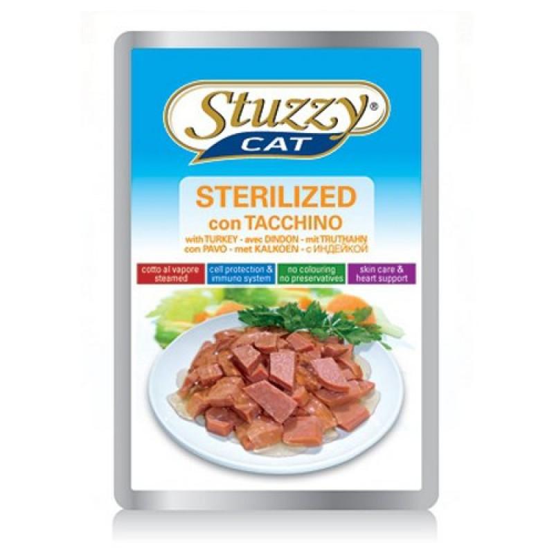 Влажный корм для кошек Stuzzy Cat консервы для стерилизованных кошек/кастрированных котов 0,1 кг