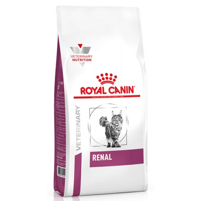 Сухой корм Royal Canin Renal Feline диета для кошек 2 кг