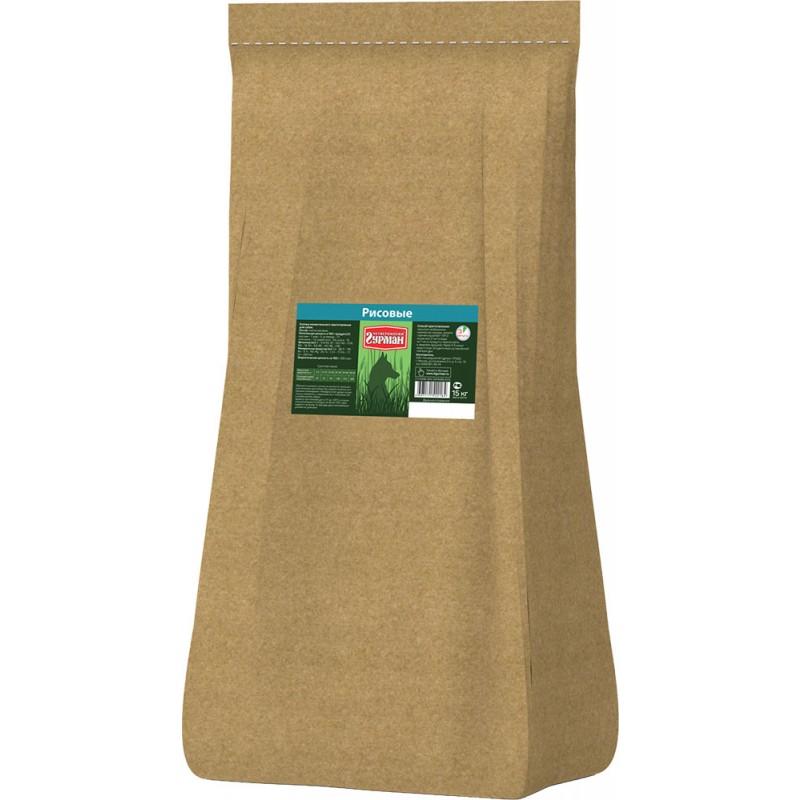 Каша для собак Четвероногий Гурман рисовая 15 кг