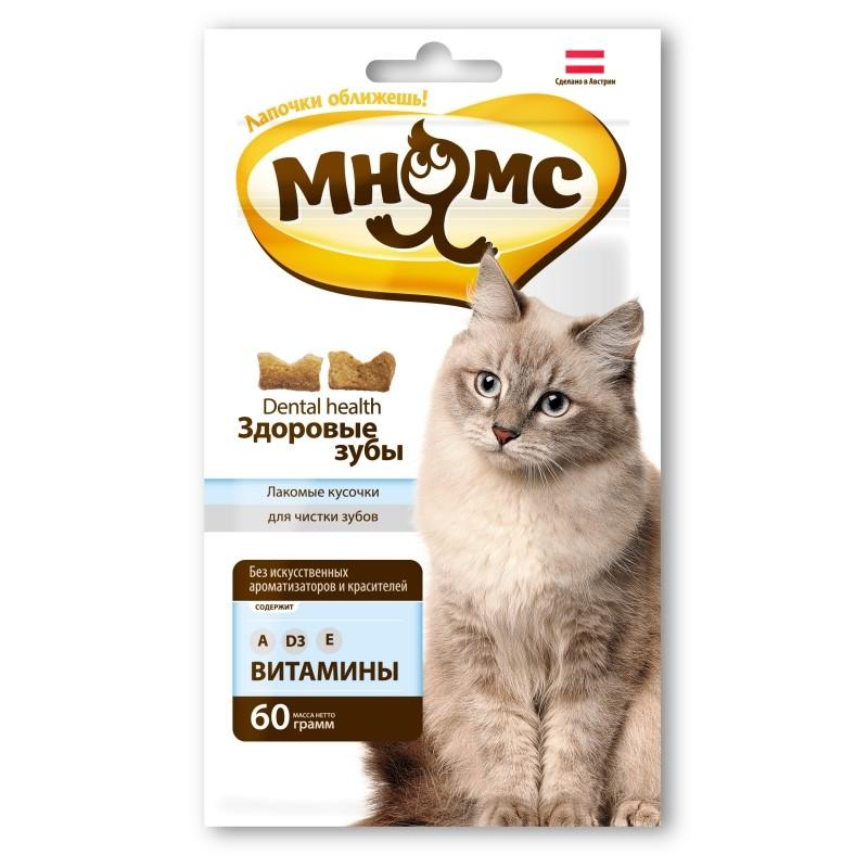 Лакомство для кошек Мнямс Дентал 0,06 кг