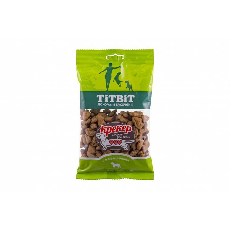 Лакомство для собак Titbit Крекер с мясом ягненка 0,1 кг