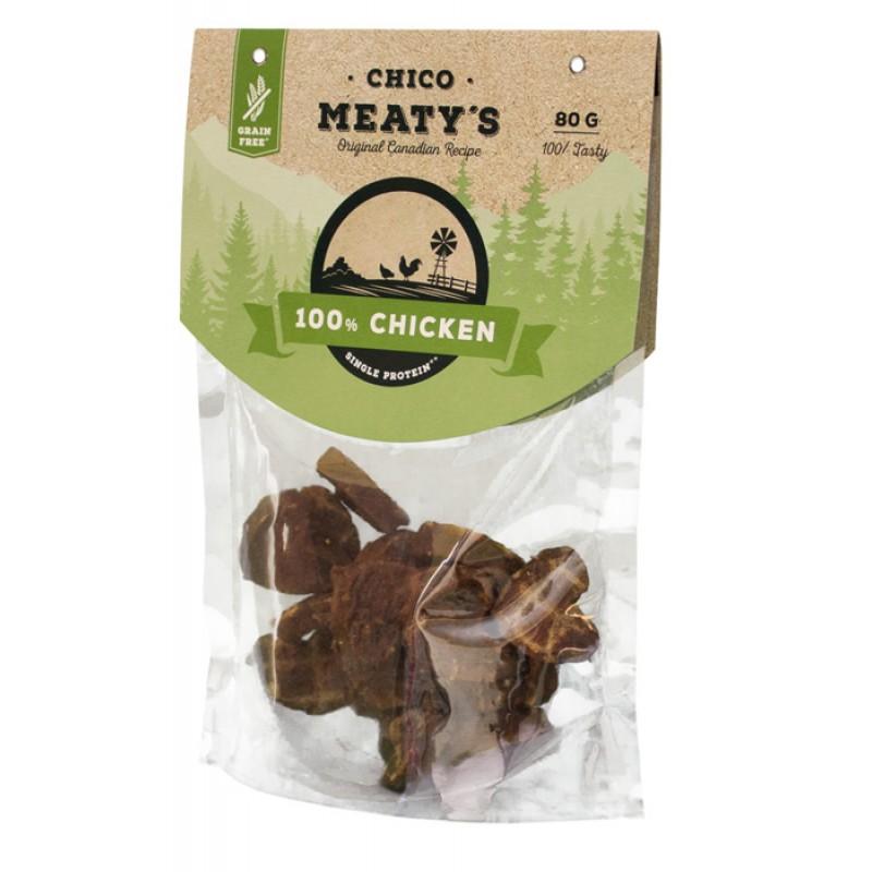 Лакомство для собак Chicopee Meaty's Chicken беззерновое  с курицей 0,08 кг