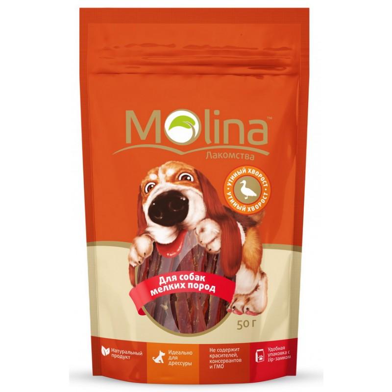 Лакомство для собак Molina Утиный Хворост 0,05 кг