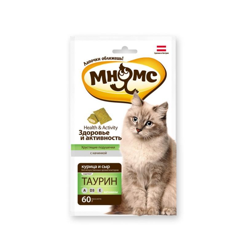 Лакомство для кошек Мнямс Здоровье и активность 0,06 кг