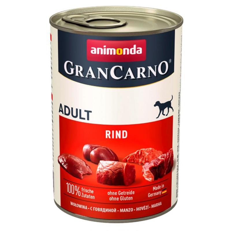 Влажный корм для собак Animonda Gran Carno Adult Original с говядиной 0,4 кг