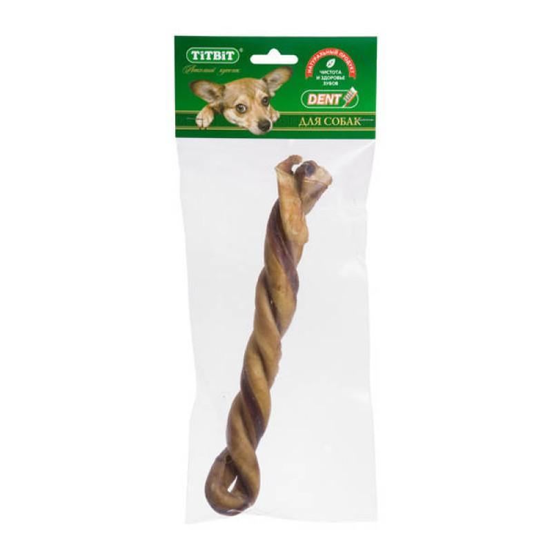 Лакомство для собак Titbit Косичка мягкая уп-ка 0,068 кг
