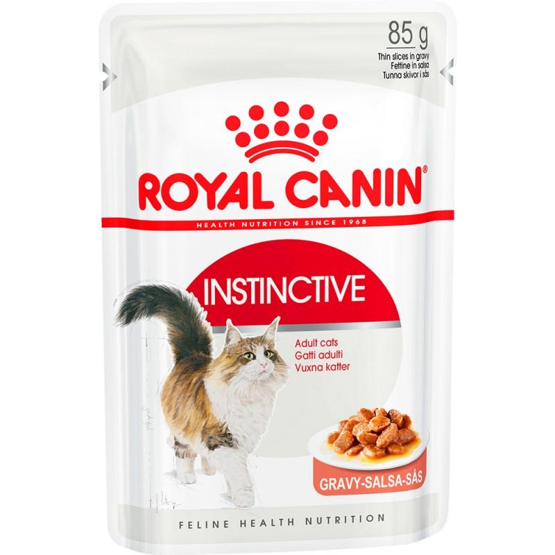 Влажный корм для кошек Royal Canin Instinctive в соусе пауч 0,085 кг