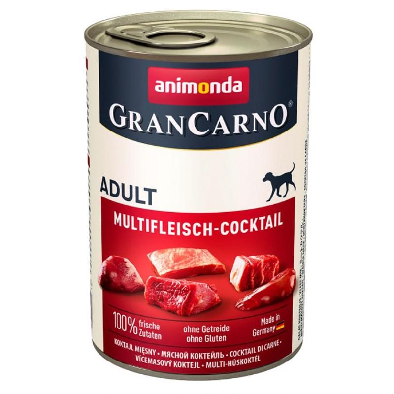 Влажный корм для собак Animonda Gran Carno Adult Original из разных сортов мяса 0,4 кг