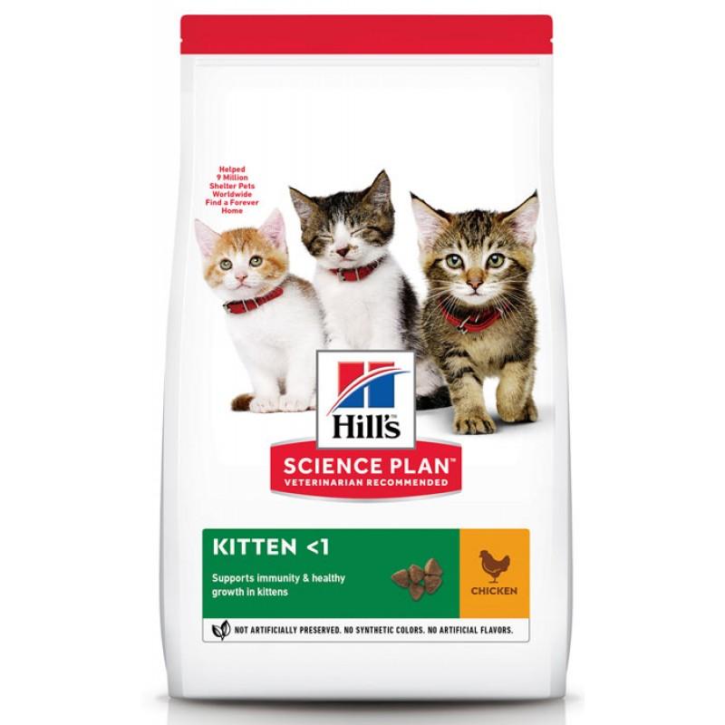 Сухой корм для котят Hills Science Plan Healthy Development Kitten Chicken 1,5 кг