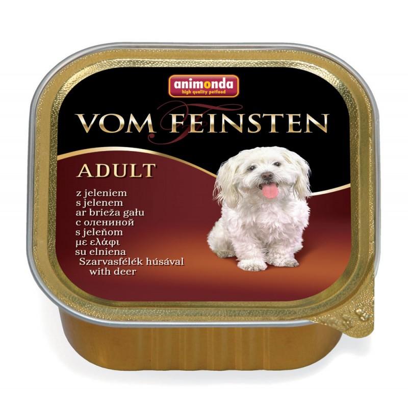 Влажный корм для собак Animonda Vom Feinsten Adult с олениной 0,15 кг
