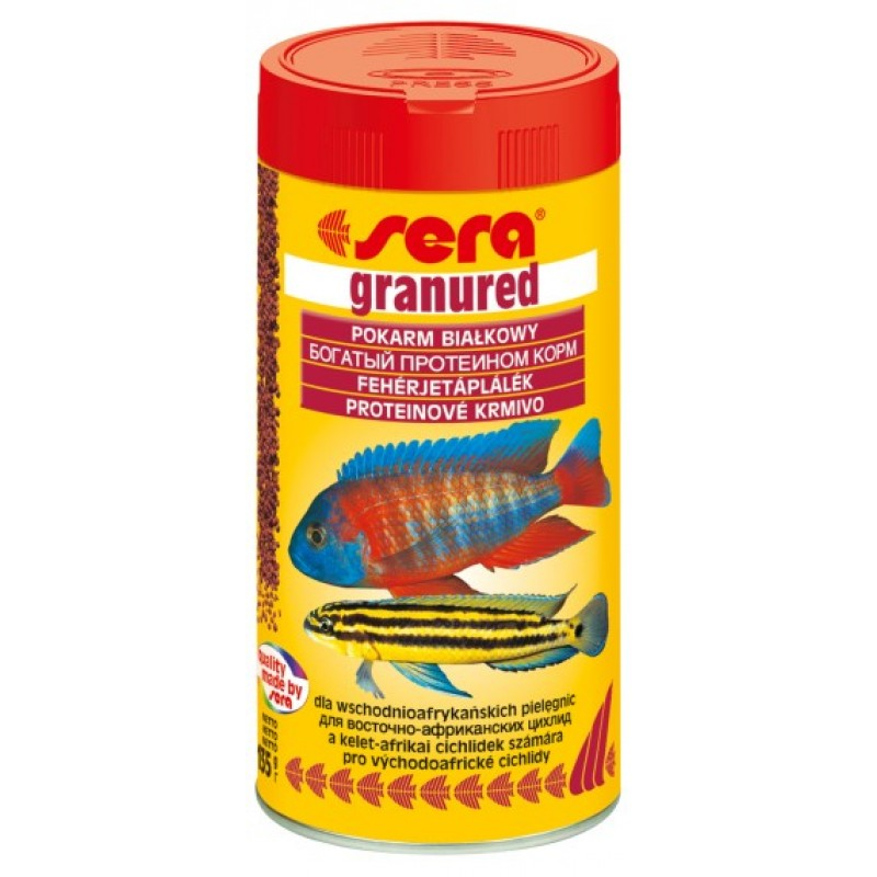 Сухой корм для рыб Sera Granured