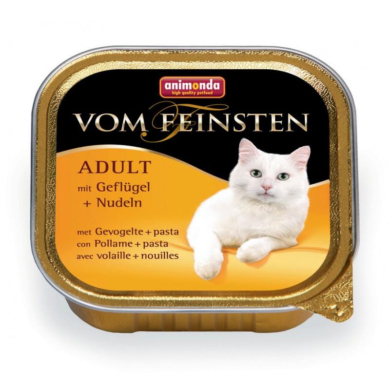 Влажный корм для кошек Animonda Vom Feinsten Adult с мясом домашней птицы и пастой 0,1 кг