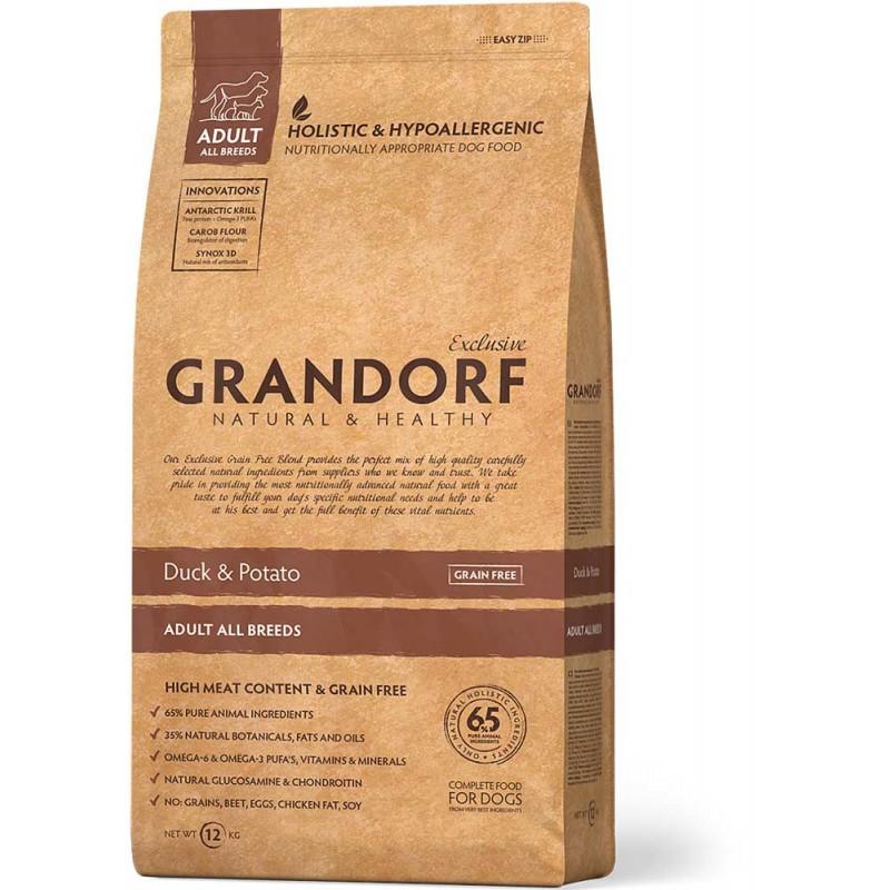 Сухой корм для собак Grandorf Duck&Potato 12 кг