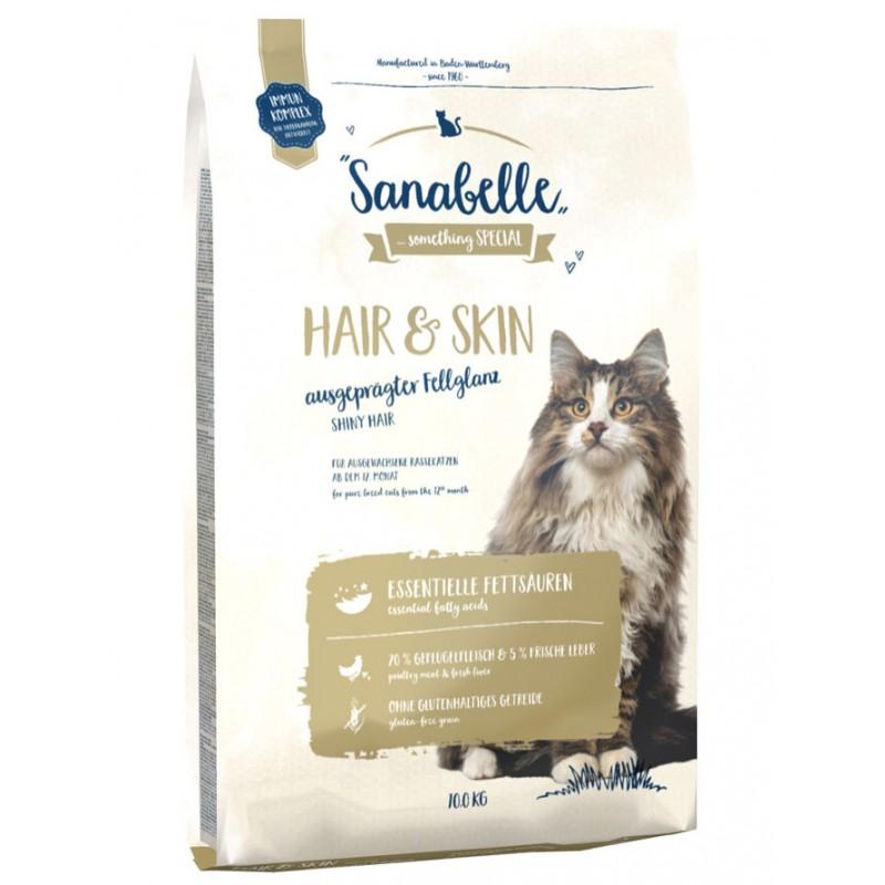 Сухой корм для кошек Sanabelle Hair&Skin 10 кг