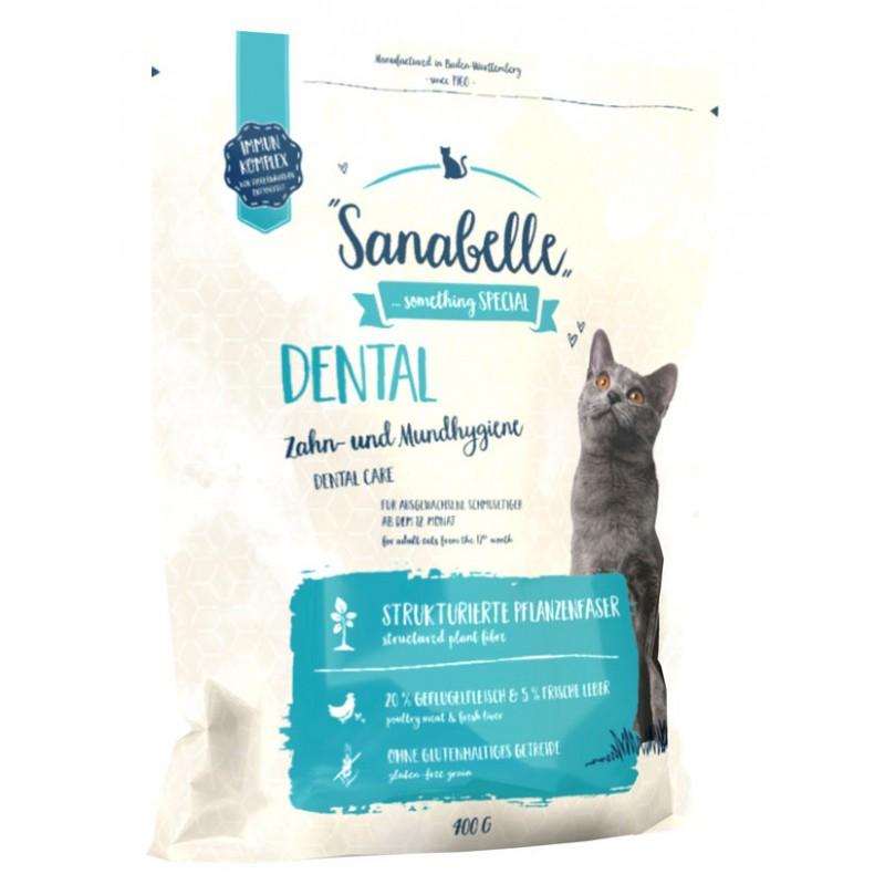 Сухой корм для кошек Sanabelle Dental 0,4 кг