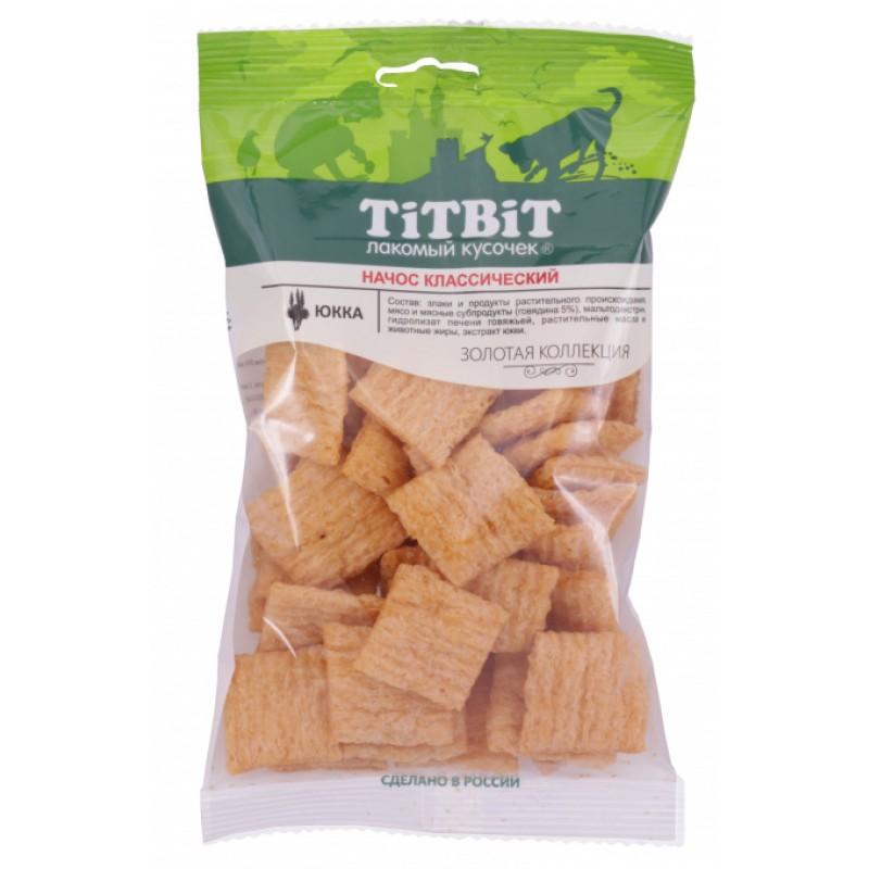 Лакомство для собак Titbit Начос классический 0,08 кг