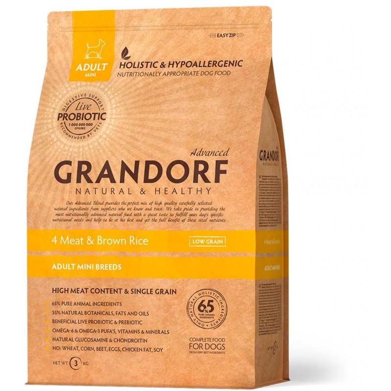 Сухой корм для собак Grandorf Probiotic Adult Mini 3 кг