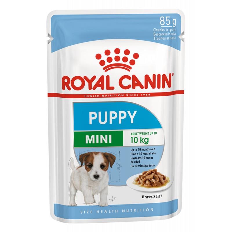 Влажный корм для собак Royal Canin Mini Puppy в соусе 0,085 кг