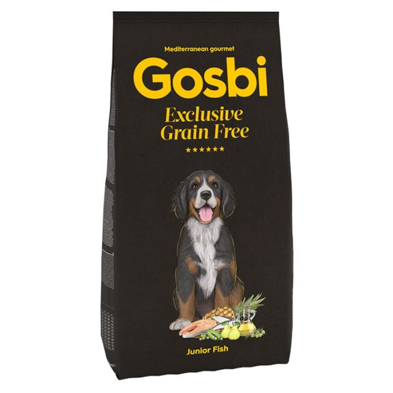 Сухой корм для щенков Gosbi Exclusive Grain Free Junior Fish с рыбой 3 кг