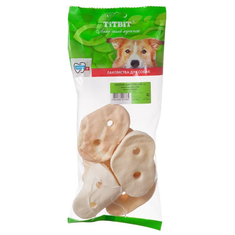 Лакомство для собак Titbit Пятачок диетический XL - мягкая упаковка 0,07 кг