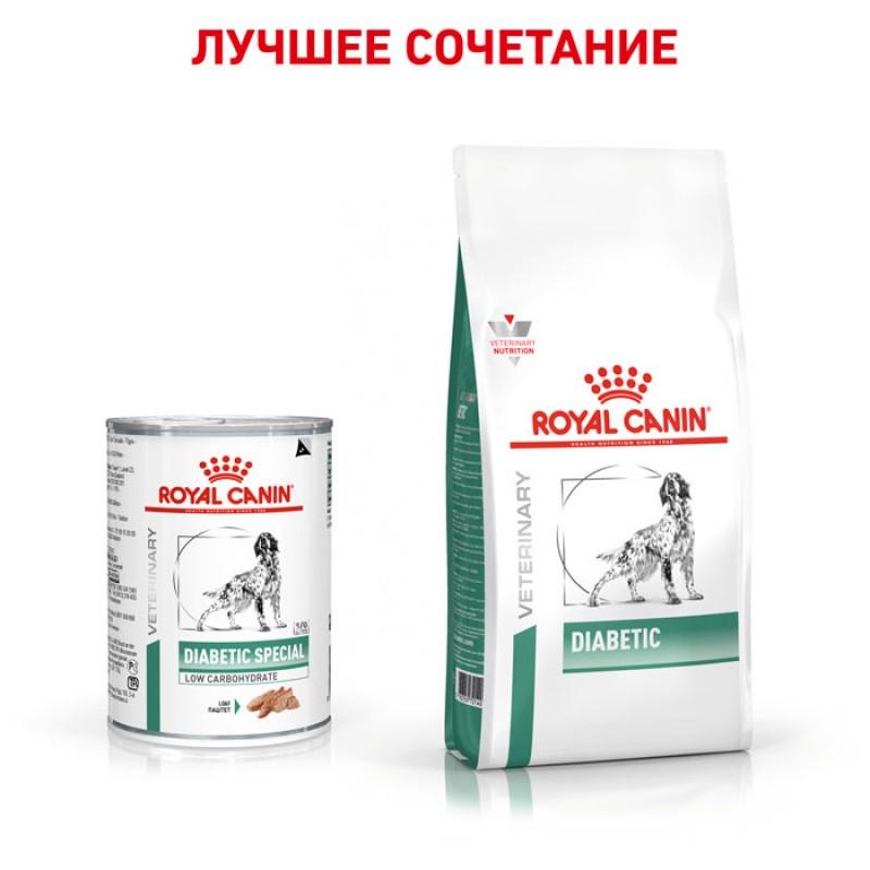 Влажный корм Royal Canin Diabetic Special диета для собак 0,41 кг