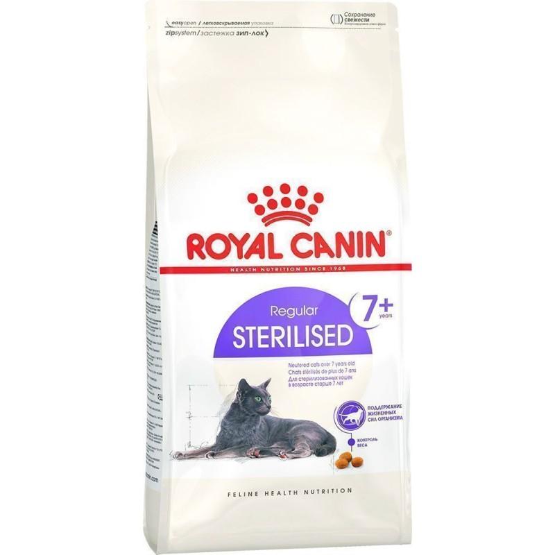 Сухой корм для кошек Royal Canin Sterilised +7 1,5 кг