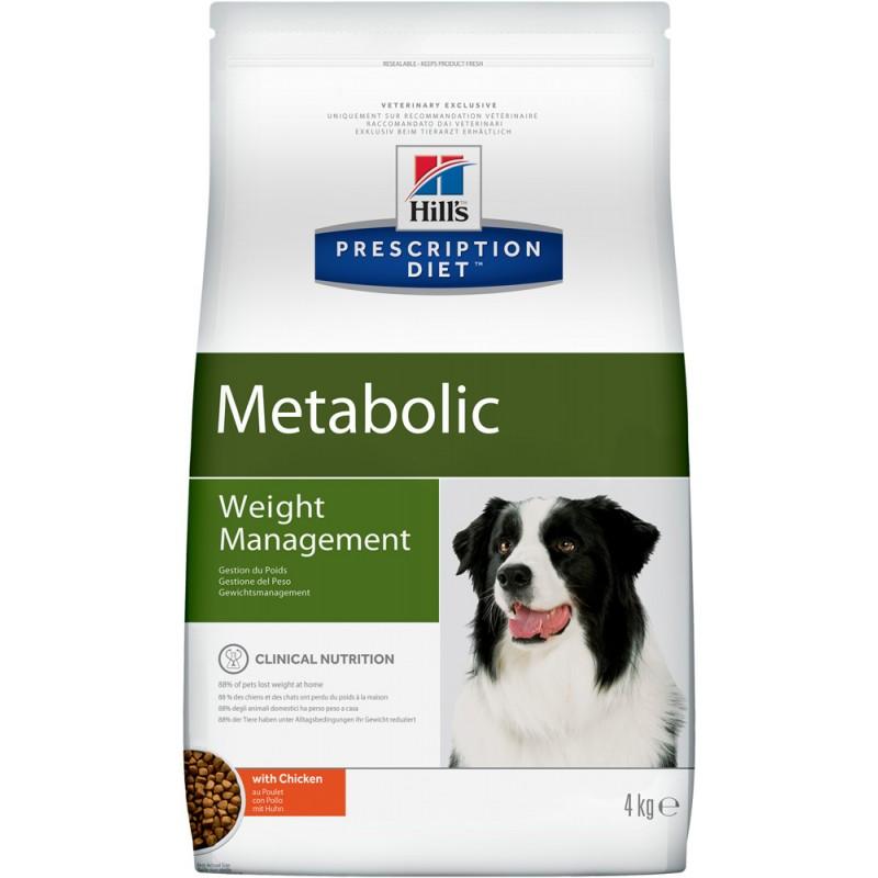 Сухой корм Hills Prescription Diet Metabolic Canine диета для собак 4 кг