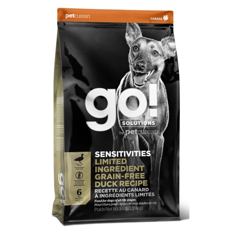 Сухой корм для собак Go! Sensitivity + Shine Duck Dog Recipe Limited Ingredient Diet Grain Free 9,98 кг