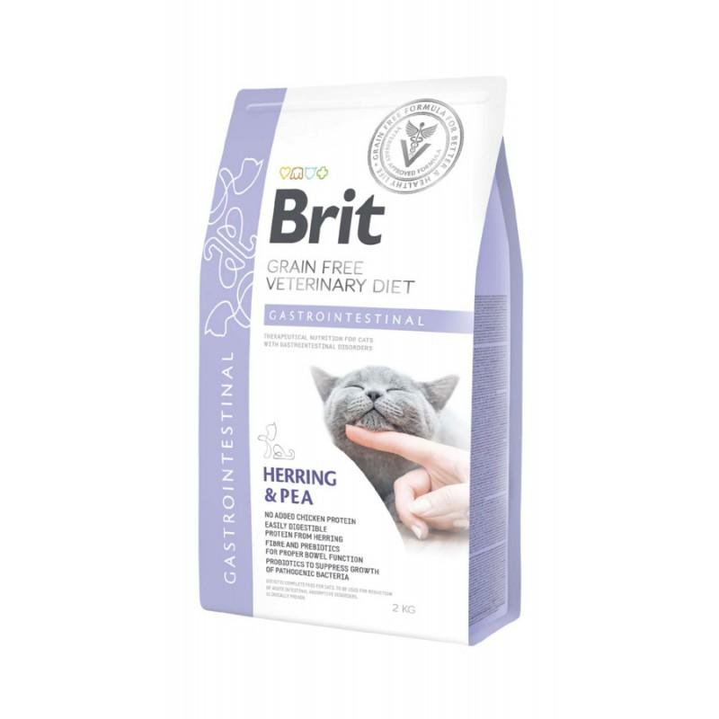 корм Brit VD Cat Grain free Gastrointestinal диета для кошек 2 кг