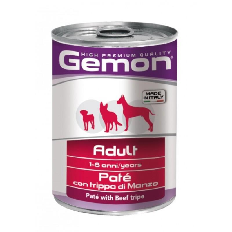 Влажный корм для собак Gemon Dog паштет говяжий рубец 0,4 кг