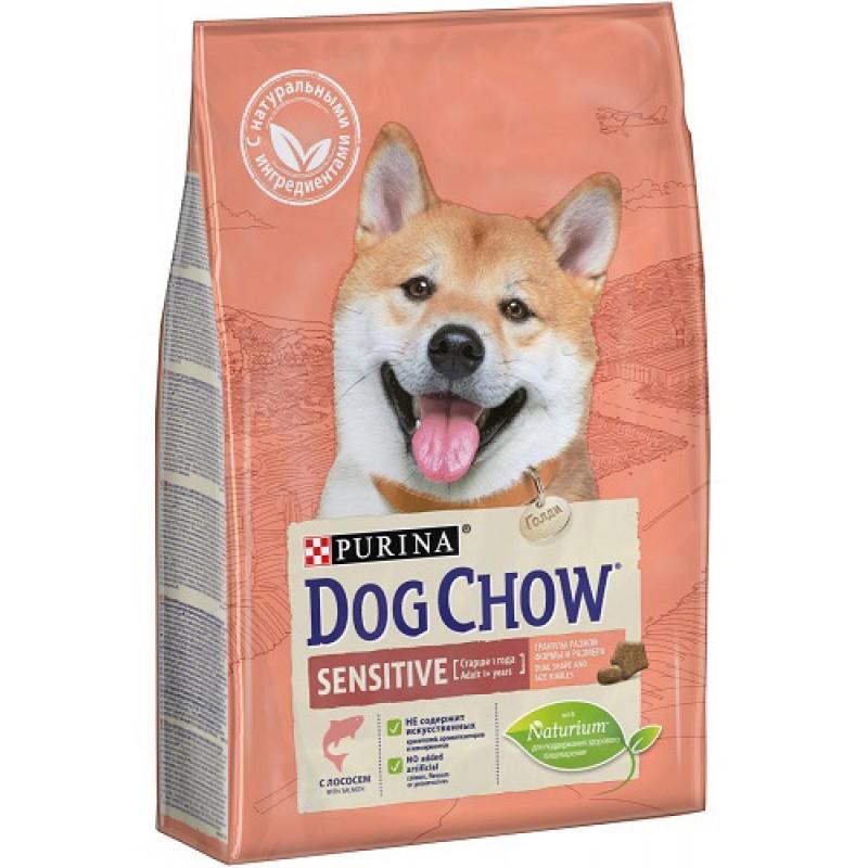Сухой корм для собак Dog Chow Sensitive Salmone 14 кг