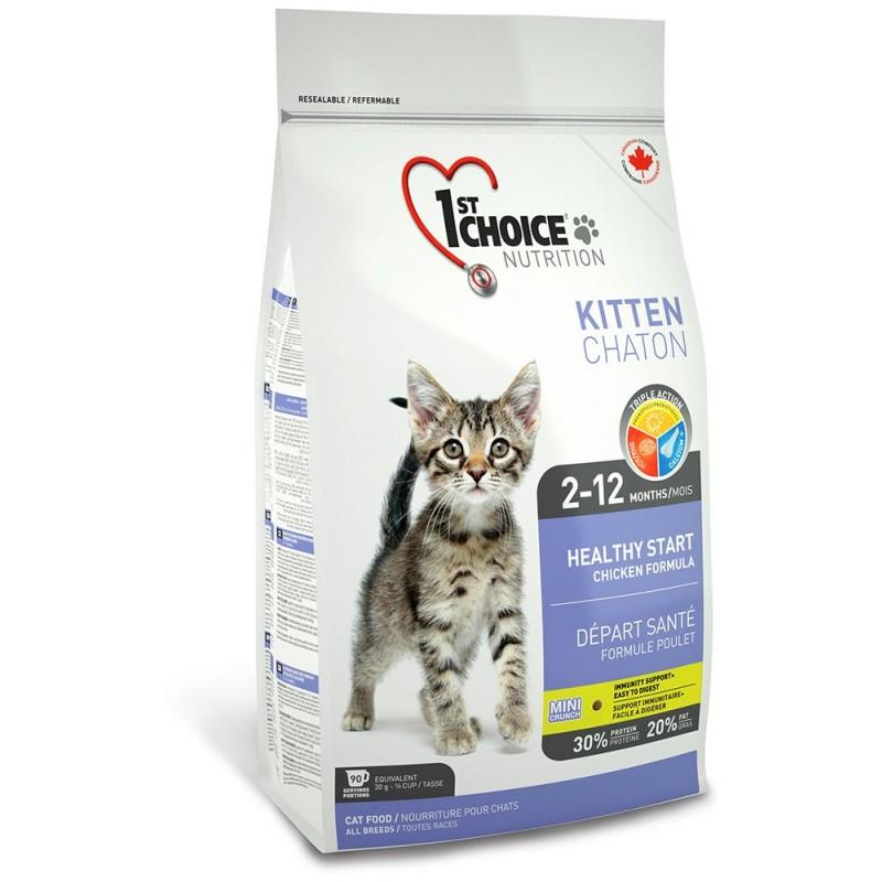 Сухой корм для котят 1st Choice Healthy Start with Chicken for Kitten 0,35 кг